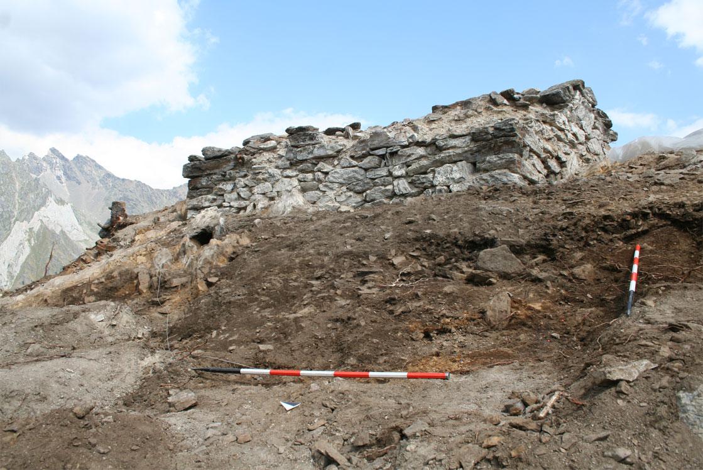 Rogo votivo scavi Tor dei Pagà - Vione